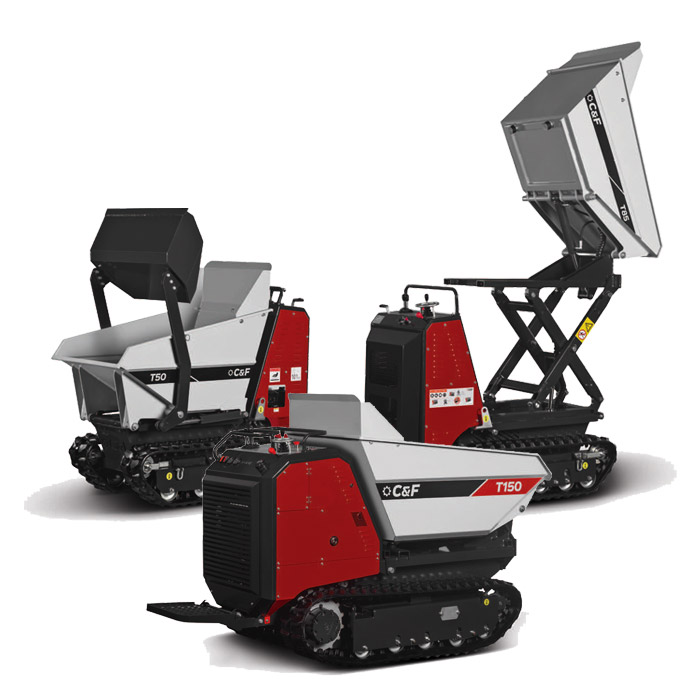 Image of CF tracked mini dumpers
